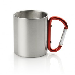 Double wall stainless steel mug 210 ml