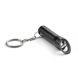 Flashlight with bottle opener