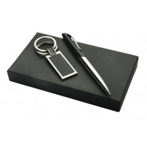Gift set (ball pen, keychain)