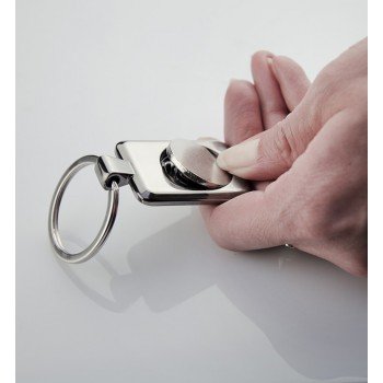 Key chain with token