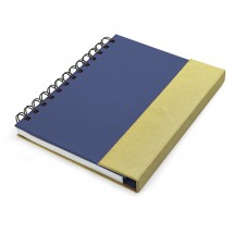 Notebook with memo sticks