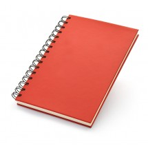 Notepad A5 red