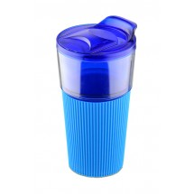 Travel mug VIDA 400ml blue
