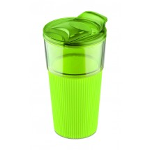 Travel mug VIDA 400ml light green