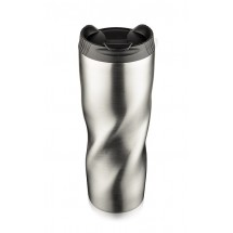 Travel mug PIROT 500 ml silver