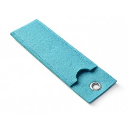 Ball pen case YOUNG light blue