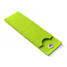 Ball pen case YOUNG light green