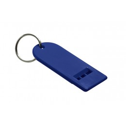 Flat whistle blue