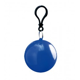 Ball shape raincoat (blue)