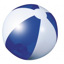 Beach ball dark blue transparent