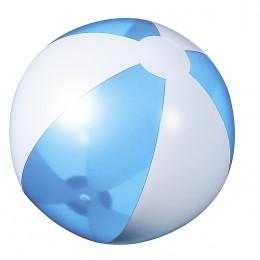 Beach ball light blue transparent