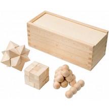 Three puzzle games set