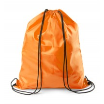 Drawstring bag orange