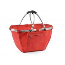 Shopping basket red