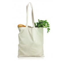Cotton bag 105 g with long handles