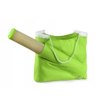 Beach bag with mat light green