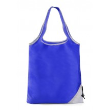 Foldable bag CONE blue