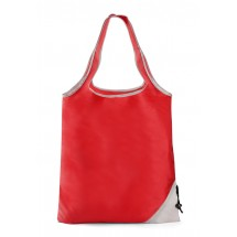 Foldable bag CONE red