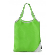 Foldable bag CONE light green