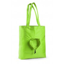 Foldable bag RUND light green