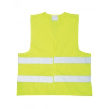 Reflective adult safety vest