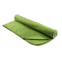 Fleece blanket light green