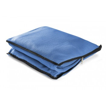2 in 1 blanket blue