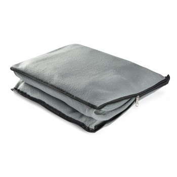 2 in 1 blanket grey