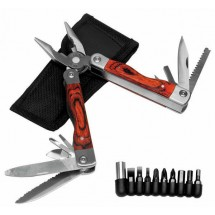Multi function tool with bits set
