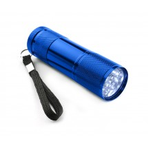 LED flashlight blue