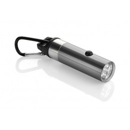 Flashlight 6LED with bottle opener and carabiner graphite