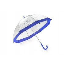 Transparent umbrella SKY blue