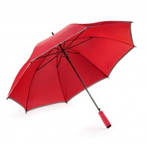 Reflective umbrella SUNNY PROTECT red