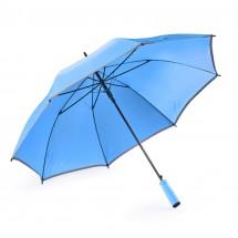 Reflective umbrella SUNNY PROTECT light blue