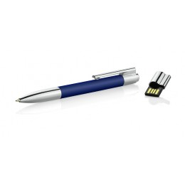 Ball pen with USB flash drive 8 GB  blue