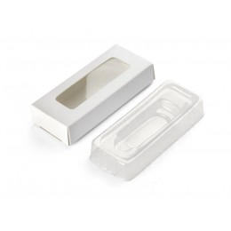 Box for USB flash drives with small tray