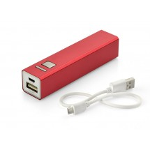 Power bank 2200 mAh red