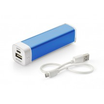 Power bank 2600 mAh blue