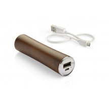 Power Bank WOODWORK dark wood 2200mAh