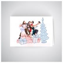 Kalėdinis atvirukas RNO17