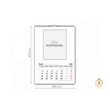 A3 vartomas kalendorius