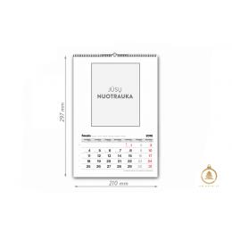 A4 vartomas kalendorius