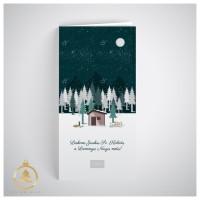 Kalėdinis atvirukas  UV08