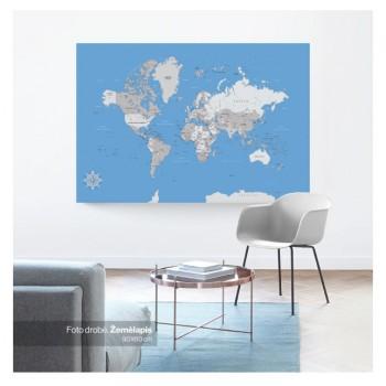 Kelionių žemėlapis 70x140