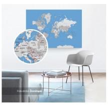 Kelionių žemėlapis 60x40
